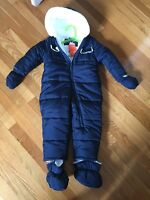 Boys 1pc snowsuit- new with tags!