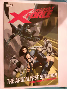 Uncanny X-Force Vol 1-4 set (Trade Paperbacks - great condition)