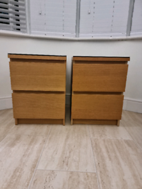 2 Bedside cabinets from IKEA