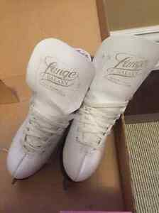 Girls White Ice Skates - Size 1 Excellent Condition
