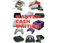 Old Video Games and Consoles Wanted Nintendo Sega PlayStation Atari etc