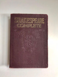 1926 William Shakespeare,  Complete Works