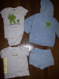 Crazy 8 'Frog' Set, Boys 18-24 months