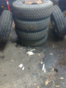 16.5 tires and rims $200