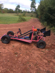 Kids gas powered go cart
