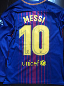 Messi #10 Barca Jersey