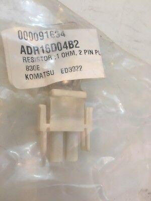 Komatsu Resistor Ed3922 1 Ohm 2 Pin Adr16d04b2