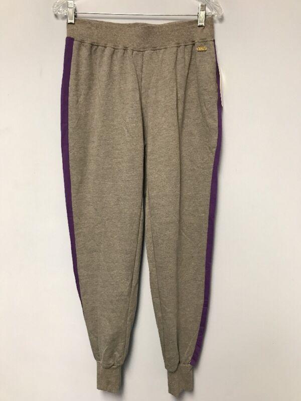 Nicki Minaj Women's Gray/Purple Jogger Sweat Pants Size MEDIUM M NWT
