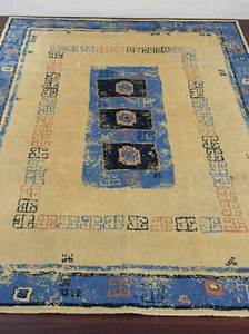 Yellow and blue rug (160 x 200 cm) Lilyfield Leichhardt Area Preview