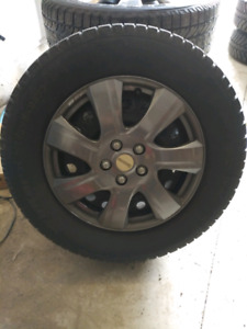 17 inch snow tires and steel rims