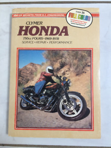 Honda Motorcycle Repair Manual