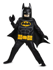 NEW: Lego Movie Batman Deluxe Kids Costume (Size: 4-6) NO TAX
