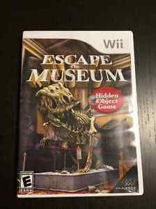 Wii Escape The Museum - Hidden Object Game