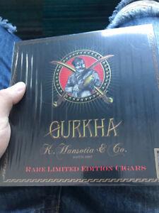 Boite cigare gurkha