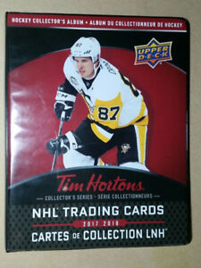 Wanted to Trade  for Tim Horton's Hockey Cards