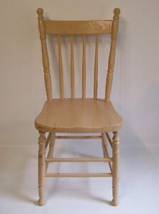 Chaise Antique Peinte - Antique Painted Chair