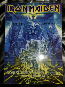 Iron Maiden very very rare tour program