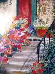 """Art Studio Colors by Imke Pearson """"The Red Door"""" 1980's Stratford Kitchener Area image 5"""