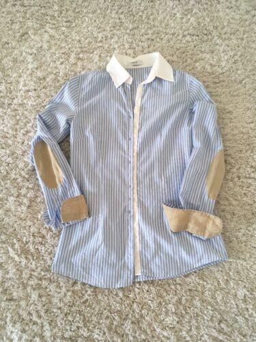Aglini the Shirtmaker Damenbluse Hemdbluse Bluse