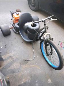 Drift Trike Bike avec moteur 6.5hp
