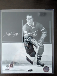 Photo - Autographe -  Henri Richard - Canadiens de Montréal