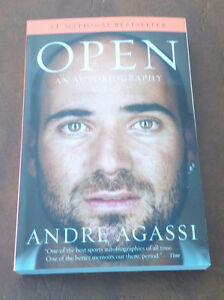OPEN, Autobiography, Andre Agassi, 2010 Kitchener / Waterloo Kitchener Area image 1