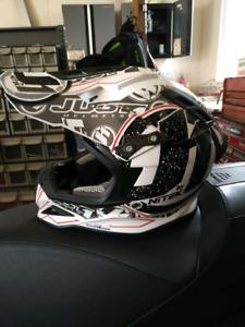 Just 1 carbon fibre helmet
