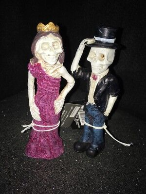 Quinceanera Couple Dia De Los Muertos Prom Couple Skelletons Day Of The Dead New