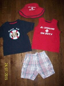 Gymboree 'Lifeguard On Duty' Set, Boys 2T