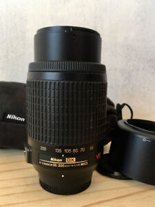 AF-S DX VR Zoom-Nikkor 55-200mm f/4-5.6G IF-ED Lens