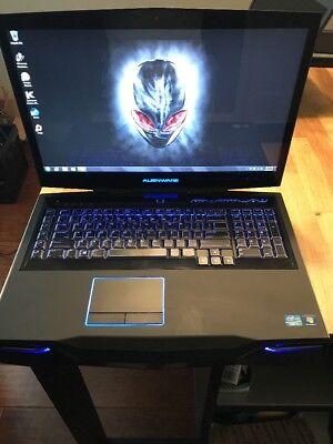 Dell Alienware 18 M18x i7 3840QM 256GB SSD + 1TB 680M Nvidia SLI Gaming Laptop