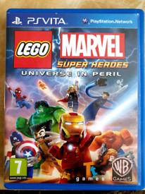 Lego Marvel Super Heroes: Universe in Peril (PlayStation Vita, 2013)