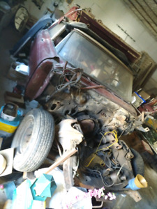 1962 Ford Galaxie 500 project