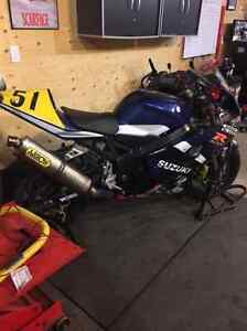 2005 Suzuki gsx-r 600 race bike Peterborough Peterborough Area image 2
