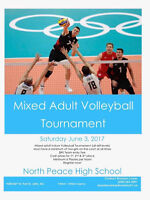 Volleyball Tournament (Adult Mixed)