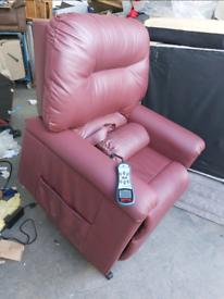 Chair - Extra Comfy NHC Technology Blenheim Riser Recliner Massager Ch