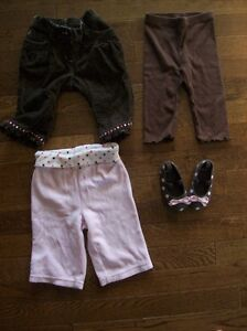 Gymboree 'Sweeter Than Chocolate' Pants & Shoes, Girls 3-6 month