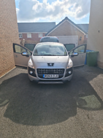 Peugeot 3008 AUTOMATIC 1.6 diesel 63 plate £30 tax road for 1 year