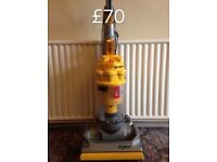 DYSON DC07 FULLY SERVICED MINT CONDITION FREE SET OF PERFUMED FILTERS YELLOW