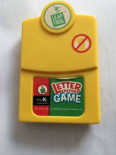Leap Frog Letter Factory Game. Pre K -- Cartridge Only - $1.99