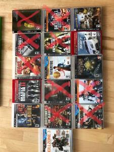 Lot de jeux PS3 vente ou échange killzone mafia 2 LA noir dan