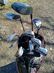 LH Golf Set with TaylorMade irons