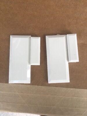 2 LOT DSC WIRELESS DOOR/WINDOW SECURITY ALARM CONTACT EV-DW4975
