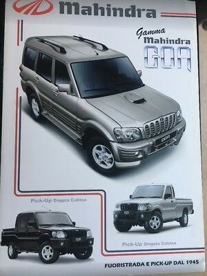 Car Brochure - 2008 Mahindra Goa - Italy