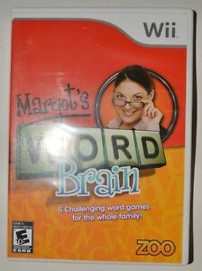 Jeu de Wii Margot's Word Brain
