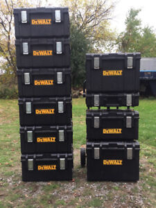 Dewalt Tough Boxes and Dolly System!
