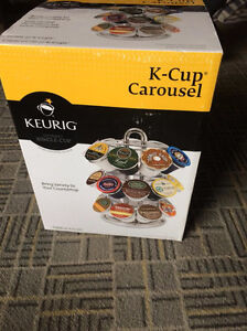 New k-cup carousel