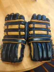 1960's Cooper-Weeks Leather Hockey Gloves