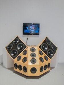Passive PA System - Loud speaker & Sub woofer