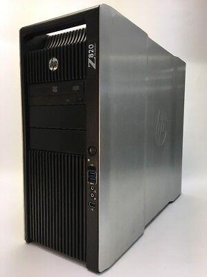 HP Z820 Workstation (2x) Intel Xeon E5-2690 3.0 GHz V2 96GB 1TB SSD Quadro K5000